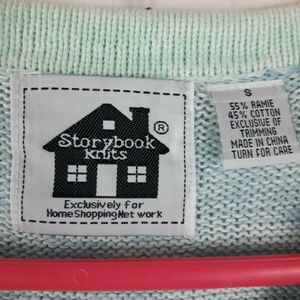 Storybook Knits Sweaters - Bottlenose Dolphins Short Sleeve Cardigan Sweater